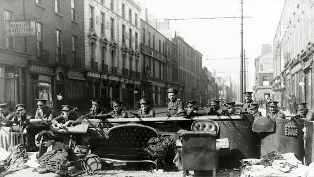 Cien años de la Semana Santa trágica de Irlanda (EIRE)