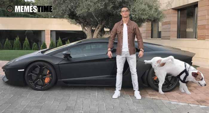"""GIF Memes Time… da bola que rola e faz rir - Ainda sobre a """"polémica"""" foto publicada por Cristiano Ronaldo no seu Instagram, junto do seu carro – Ponto final paragrafo."""