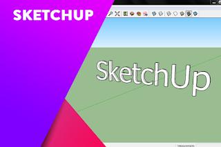 Tips cara cepat belajar sketchup bagi pemula
