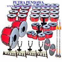 jual  1 set alat drum band / marching SD harga ter murah kualitas bagus