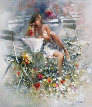 Willem Haenraets | Belíssimas pinturas impressionistas