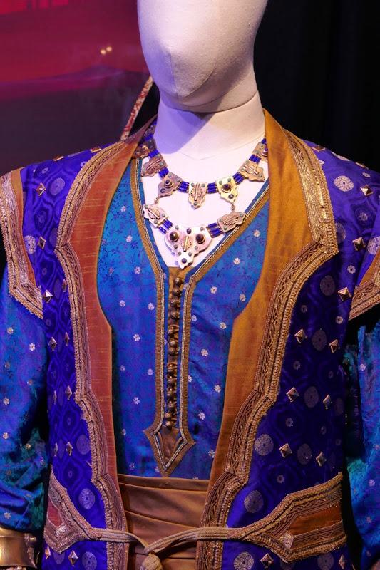 Aladdin Genie costume detail