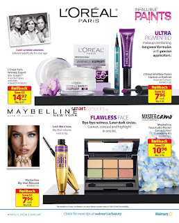 Walmart Beauty Insert April 20 - May 3, 2017