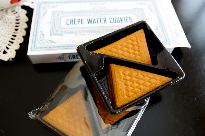 Trader Joe's review: French Crepe Wafer Cookies