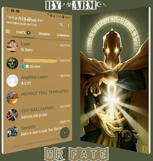 Dr Fate Theme For YOWhatsApp & Fouad WhatsApp By ALBERTO