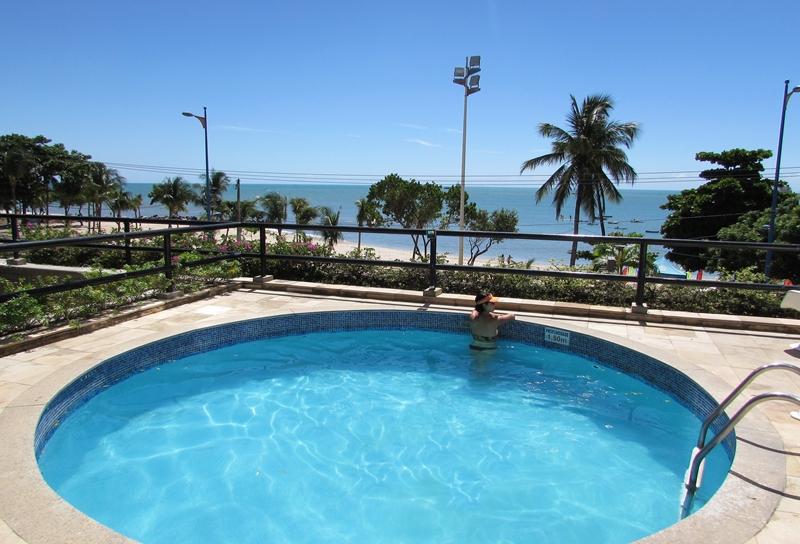 Hotel frente mar Praia de Mucuripe, Fortaleza