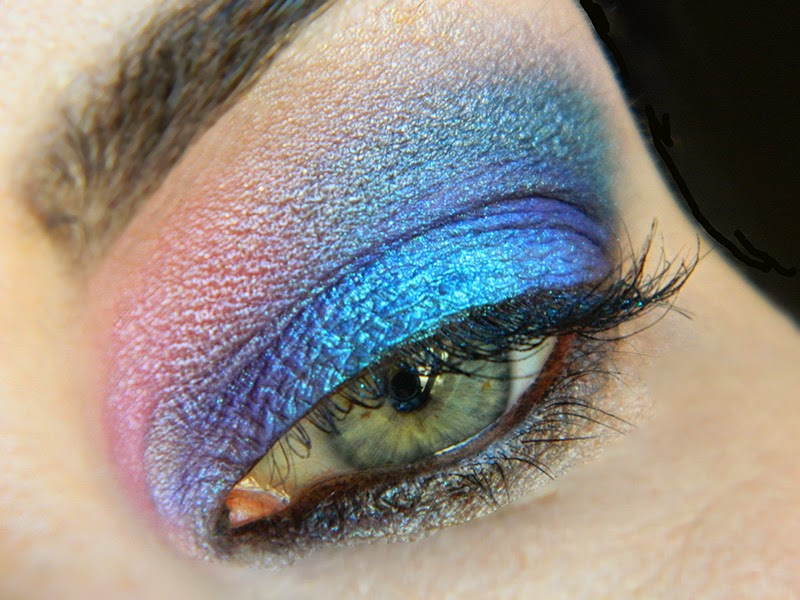 maquillage sirene makeup mermaid