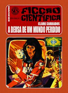 bolsilivro sos ficção científica cedibra série vermelha clark carrados deusa mundo perdido