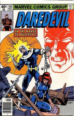 Daredevil #160, Bullseye and the Black Widow