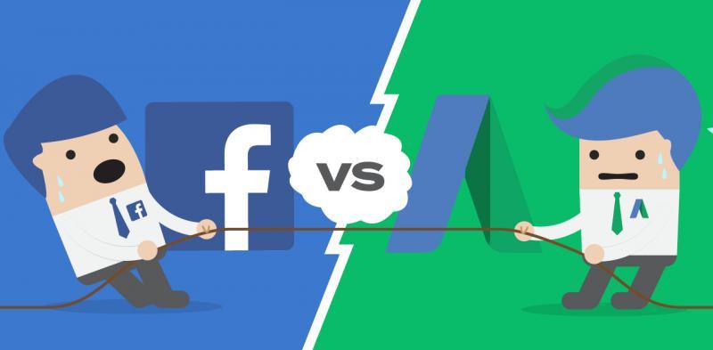 أيهما أفضل لمشروعك.. إعلانات فيس بوك وجوجل؟؟