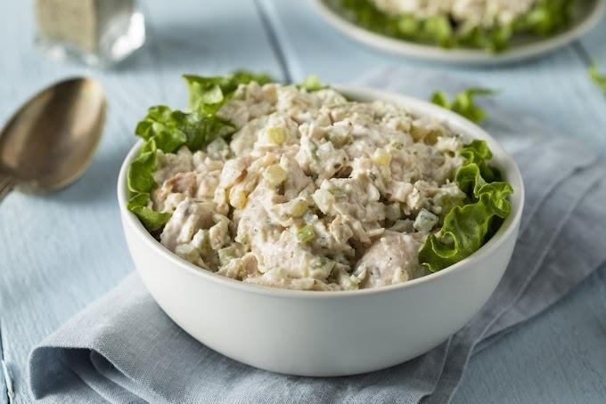 Best chicken salad recipe | Nutritious chicken salad at Home