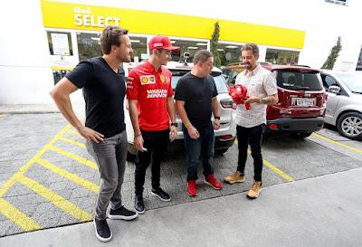 Gerson, Leclerc, Marcelo e Cassio (Foto: Rodrigo Coca/SBT)