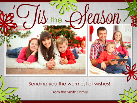 all these egreeting cards are unique and personalized so you also have the - Personalized Christmas Cards No Photo