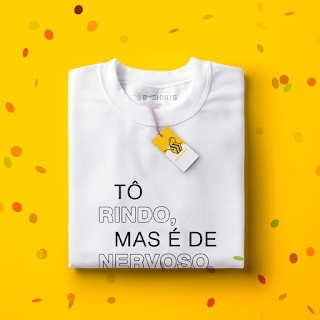 Camisetas para carnaval - Rindo de Nervoso
