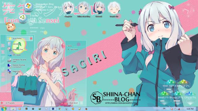 Eromanga-sensei - Izumi Sagiri Theme Win 7 by Enji Riz Lazuardi