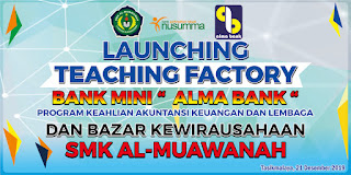banner launcing teacoryhing factory