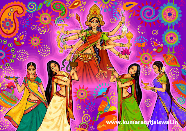 Durga Puja 2019 quotes and wishing script