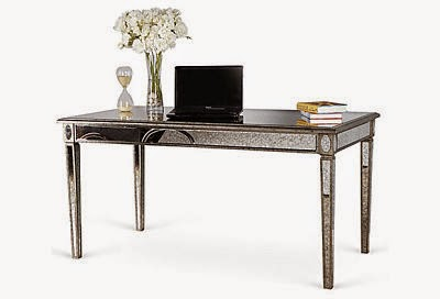 Lusetta Mirrored Desk Is In The Budget If I Can It Quick Enough