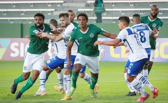 Goiás vence o Confiança pela segunda rodada da Série B