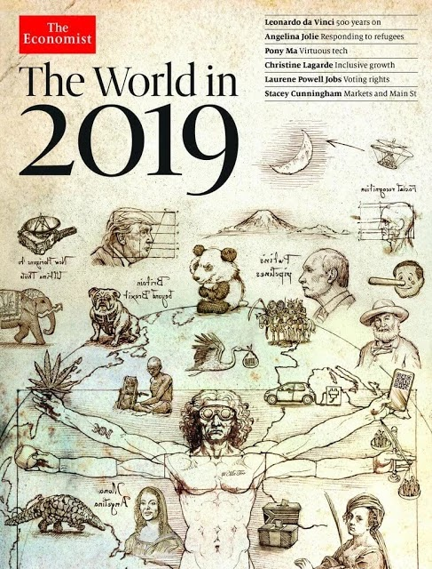 The Economist kapağı 2019 - Sadece Gerçek