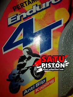 Review Penggunaan Oli Enduro 4T 20W-50