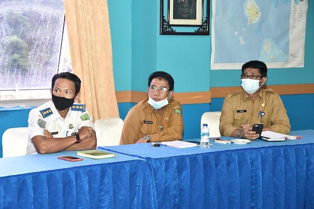 Bupati Natuna Dampingi Gubernur Ansar Mengikuti Video Konference Kedutaan Besar RI Jepang.