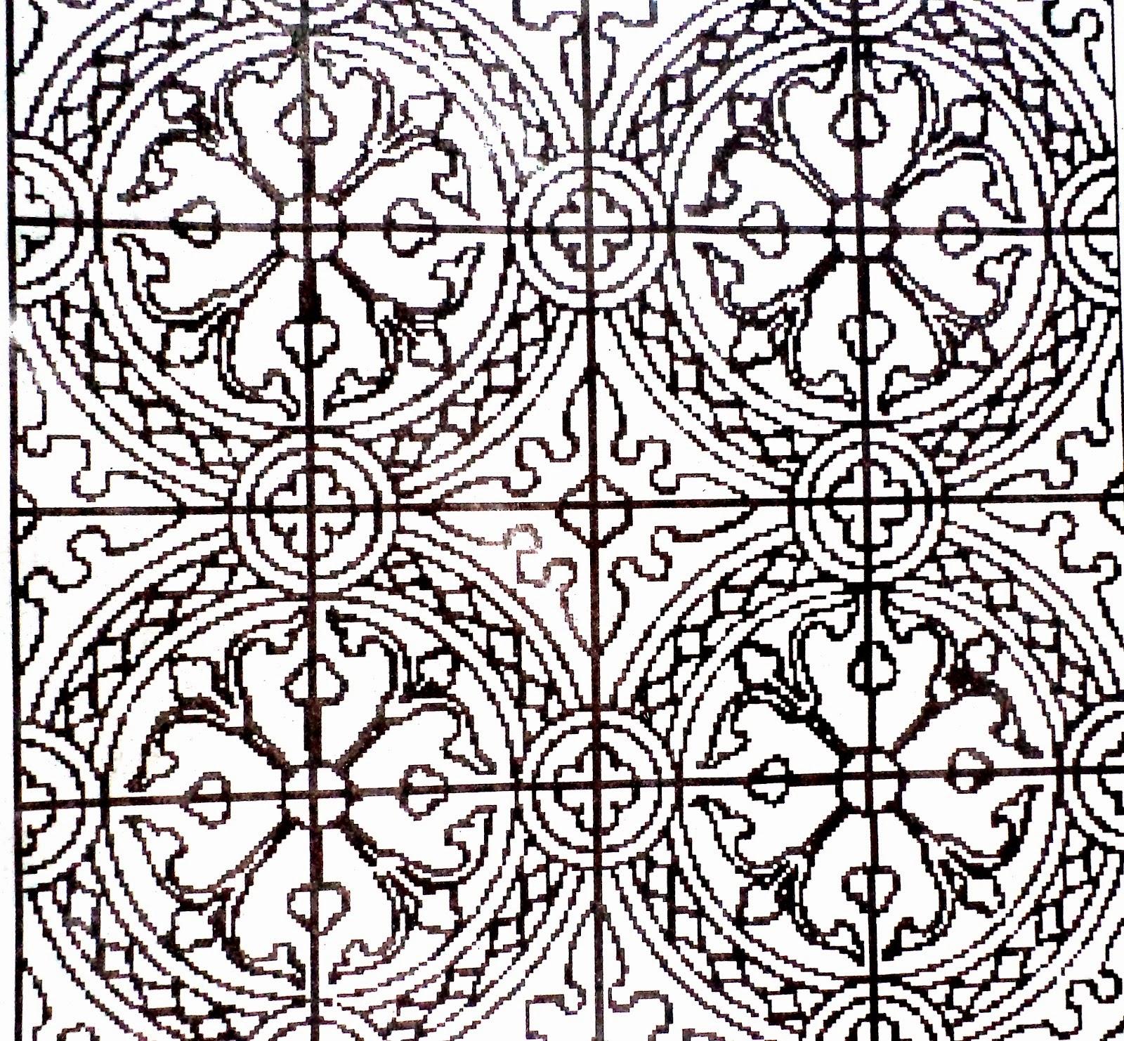 Contoh Batik Yang Gampang Di Gambar  Contoh O