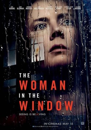 The Woman in the Window 2021 BRRip 480p Dual Audio 300Mb