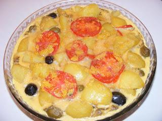 Tortilla spaniola la cuptor retete culinare,