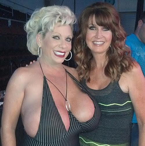 Pornstar Claudia Marie and TNA owner Dixie Carter