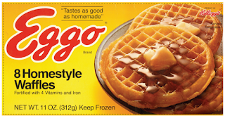 free Eggo box printable