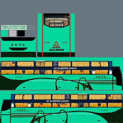 60 Mod Mobil Sport Bus Simulator Indonesia Gratis