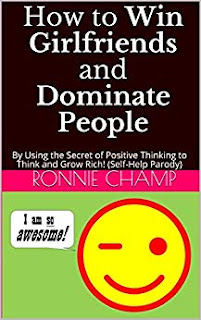 Image of book cover for humorous parody and funny satire by Ronnie Champ