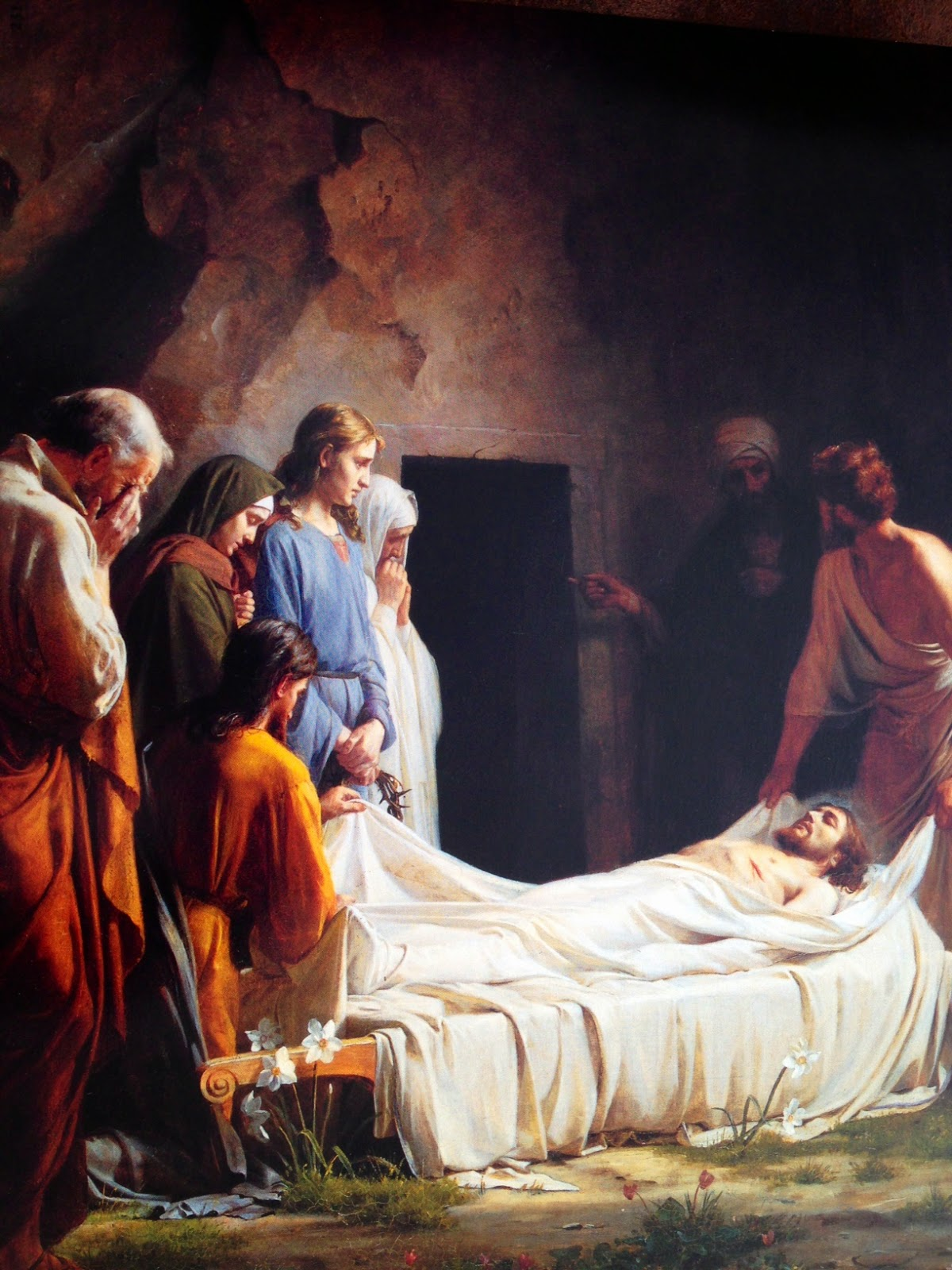 Resultado de imagen de imagenes del hombre q pidio el cuerpo de jesus