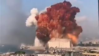 Huge explosion in Beirut, 04 August 2020