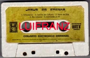 Conjunto Electrónico Emmanuel-Jesús Es Eterno-
