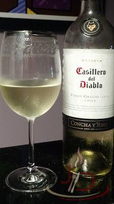 foto do vinho branco