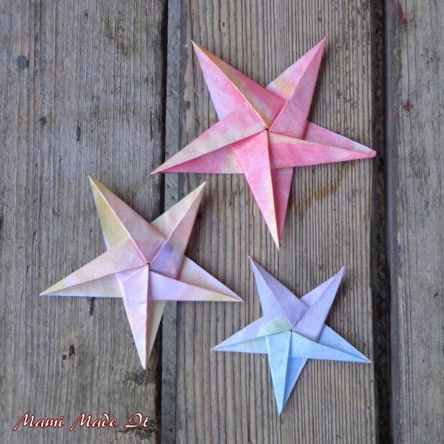 Origami Star - Origami Stern