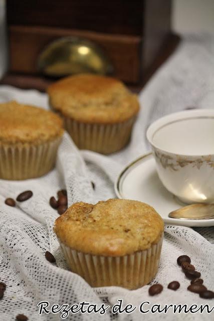 Magdalenas de café bombón