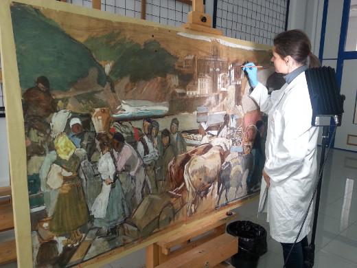 El IVCR+i recibe el Premio Unión Europea de Patrimonio Cultural 2018 por la restauración de los bocetos de Sorolla 'Visión de España'