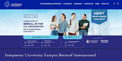 Sampoerna University Kampus Bertaraf Internasional