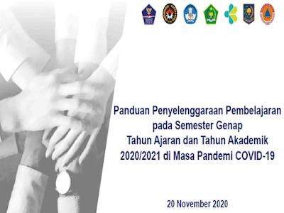 Pedoman Pembelajaran pada Semester Genap TA 2020_2021