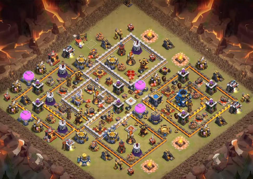 clash of clans town hall 12 war base 2019