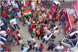 neeraj-chopra-villege-redy-to-welcome-with-qwintal-sweets