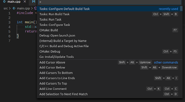 VSCode - Configure Default Build Task