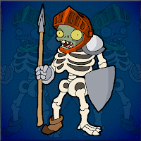 Zombie Warrior Escape Wal…
