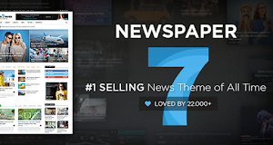 Newspaper is modern, flexible and customisable WordPress theme