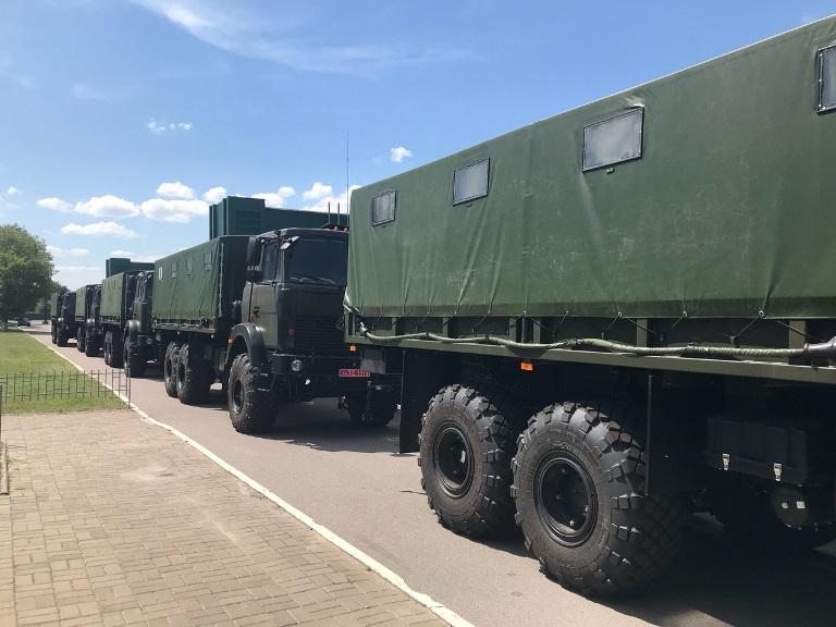 «Богдан» передав ЗСУ чергову партію вантажівок Богдан-6317