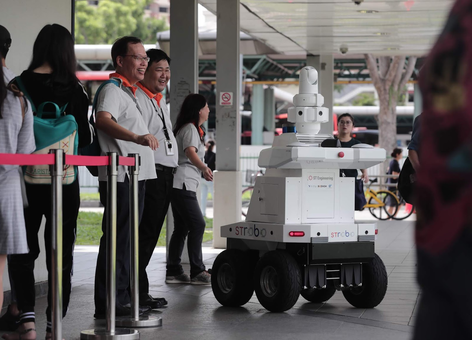 LTA is exploring the use of robotics to potentially complement the deployment of security officers in the future.