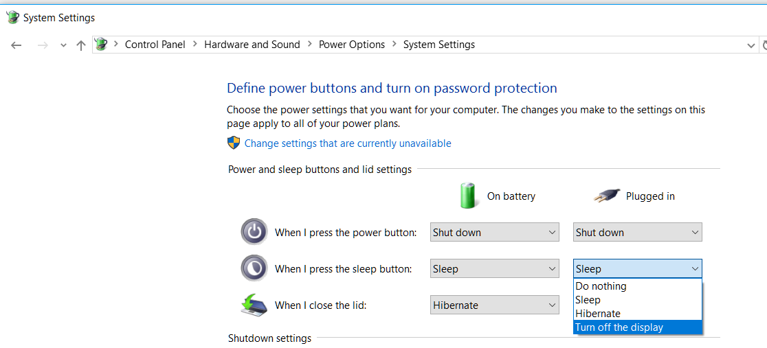 Turning off a Dell Laptop Monitor: Keyboard shortcut(s)